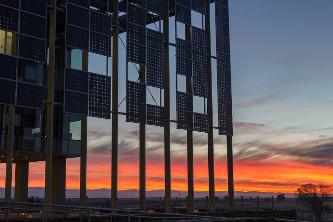 Sunrise at UC Merced